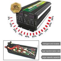 3000Watt 6000W(peak) LCD 24V to 220V Power Inverter + Charger For Solar/Wind