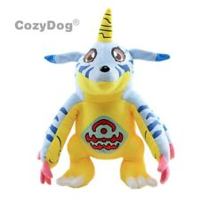 "Digimon Gabumon Plush Soft Toy Stuffed Animal Doll Teddy 12"" Digital Monster"