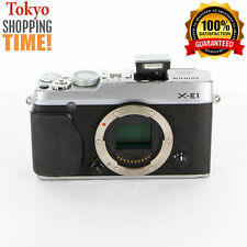 [EXCELLENT+++] FUJIFILM X-E1 Silver Body from Japan