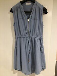Womens Blue Dress Size 14. Breastfeeding/Nursing Friendly. Light Blue. St Frock