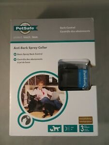 "PetSafe Anti-Bark Spray Collar Dog Size 6lbs & over w/ up to 24"" Neck NIB Sealed"