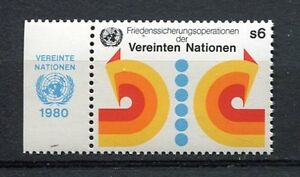 19911) UNITED NATIONS (Vienna) 1980 MNH** Peace w-label.