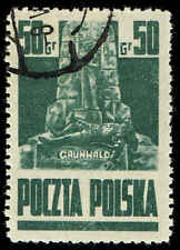 Scott # 345 - 1944 - ' Grunwald Monument, Cracow '