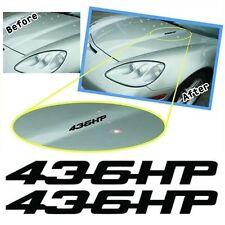 MG2007 LS3 Hood 436HP decals, graphic fits 2008 Corvette