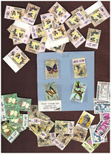 MALAYSIA 1965 1971 Remnants ORCHIDS BBUTTERFLIES MNH MH Used
