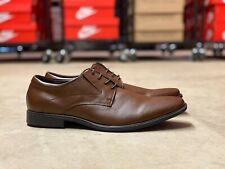 Gordon Rush Brigham Oxford Mens Lace Up Leather Shoes Brown 301146 NEW Size 11