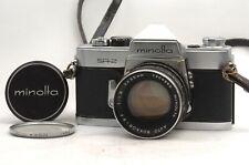 @ Ship in 24 Hours! @ Minolta SR-2 35mm Film SLR Camera Auto Rokkor-PF 55mm f1.8