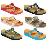 SCHOLL NEW BOGOTA WEDGE Bioprint sandali ciabatte zoccoli pantofole donna zeppa
