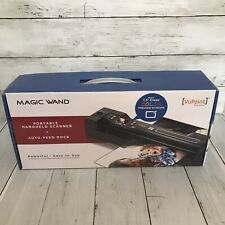 VuPoint Magic Wand Portable Handheld Scanner, Auto-Feed Dock & 2 MicroSD Cards