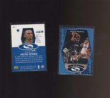 1998-99 Upper Deck UD Choice Starquest Blue SQ19 Anfernee Hardaway Orlando Magic