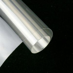 2M X 50CM Sécurité Fenêtre Film Verre Transparent Protection Anti- Briser