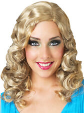 Alice Wonderland Movie Princess Sleep Beauty Cinderella Blonde Hair Costume Wig