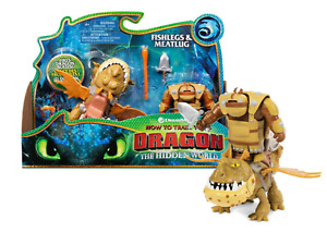 How to Train Your Dragon Fishlegs and Meatlug Toy Free Delivery