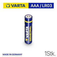 AAA VARTA INDUSTRIAL PRO Batterien LR03 1200 mAh MHD bis 2029 --