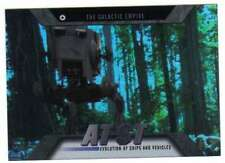 2016 Topps Star Wars Evolution Vehicles and Ships #EV-18 AT-ST