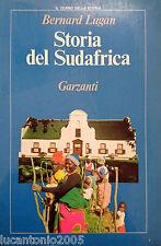 BERNARD LUGAN STORIA DEL SUDAFRICA DALL'ANTICHITà A OGGI GARZANTI 1989