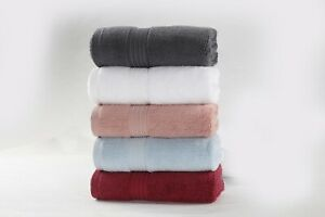 Luxury Quality Large Pack of 4 Hand Towels 100% Cotton 800 GSM Multicolored Sets