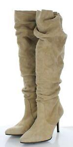 80-36 NEW $775 Women Sz 9 M Stuart Weitzman Lafayette Slouch Boot In Mojave