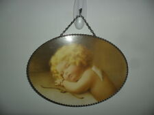 "Angel Sleeping By Bessie Pease Gutmann - Repro Art - Wall Flue Cover - 11"" X 8"""