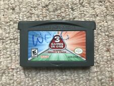 Majesco 3 In 1 Sports Pack (Dodgeball, Bowling, Paintball) Game Boy Advance GBA