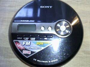 Sony Discman Model No D-NF340 Personal CD Player