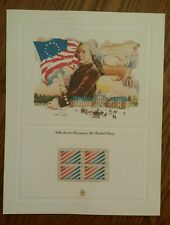 MINT US STAMPS PANEL 2003 US NETHERLANDS TREATY SCOTT # 2003 BLOCK MNH