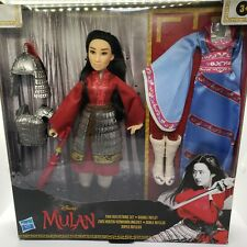 Disney Mulan Movie Fashion Doll Two Outfits Accessories Two Reflections Gift Set