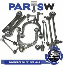 14 Pc Suspension kit Upper Lower Control Arms Inner Outer Tie Rod Ball Joint Set