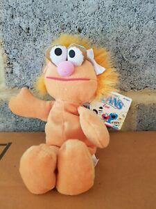 Zoe Sesame Street Retro Plush Toy beans Tyco
