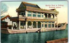 PEKING, CHINA    --- Summer Palace  MARBLE BANK  ca 1910s   Postcard