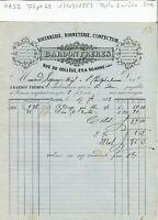 Dépt 42 - Roanne 29 Rue du Collège - Belle Entête d'un Commerce du 17/09/1883