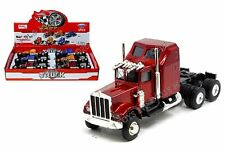 Kings Toy Display - 1:36 Hauler Truck Cab Die-Cast Pull-Back Set Of 3 Color