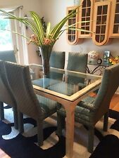 Contemporary Dining Room Table & Chairs