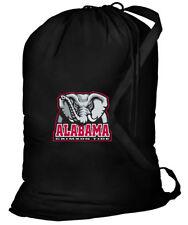 University of Alabama Laundry Bags BEST Alabama Clothes Bag w/ SHOULDER STRAP!