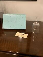 Tiffany & Co. Val St. Lambert, Belgian Crystal Bell w/Box And Card