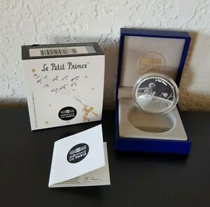 France 10 euro silver Proof coins 2015 LITTLE PRINCE Essential is Invisible