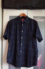 Supreme Shadow Plaid Short Sleeves Shirt size L