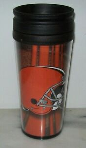 CLEVELAND BROWNS TRAVEL MUG CUP BRAND NEW!!!!!!