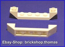 Lego 2 x Schrägstein negativ weiß - 52501 - Slope, Inverted white - NEU / NEW