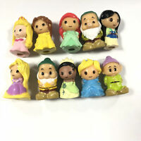 10pcs Ooshies Disney Princess Series Collection Snow White Figure Pencil Topper