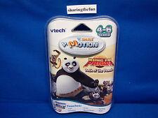 VTech V.Smile V-Motion Dreamworks KUNG FU PANDA: PATH OF THE PANDA Game NEW