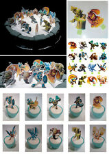 16 Skylanders Edible Cupcake/Fairy Cake Toppers Stand ups Wafer Decorations DIY