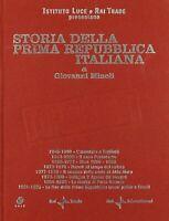 Storia della prima Repubblica Italiana (Giovanni Minoli) Box 8 DVD - Come Nuovo