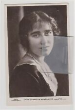 Lady Elizabeth Bowes-Lyon (Queen Mother) RPPC U/P c1910/20s Information On Back