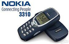 NOKIA 3310 ANTIQUE ORIGINAL VINTAGE PHONE (THE BEST ICONIC MOST RARE PHONE)