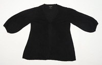 Massimo Dutti Womens Size S Black Cardigan (Regular)