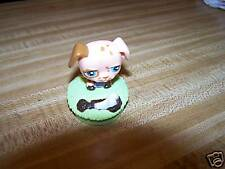 Littlest Pet Shop Cute diecut puppy toy folding keyclip. New