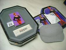 ZIPPO LIGHTER MODELLO PIN UP ANNO 1996 NUOVO CON COFANETTO NEW