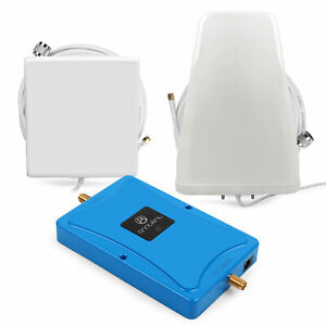 Band 7  2600MHz LTE 4G Mobile Phone Signal Booster Repeater + Yagi Antenna  kit