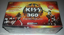 KISS BAND PRESS PASS DR. LOVE 360 TRADING CARD 12-PACK Factory SEALED BOX